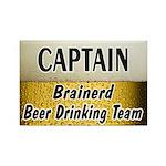 Brainerd Beer Drinking Team Rectangle Magnet (10 p