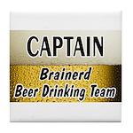 Brainerd Beer Drinking Team Tile Coaster