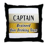 Brainerd Beer Drinking Team Throw Pillow