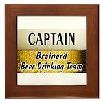 Brainerd Beer Drinking Team Framed Tile