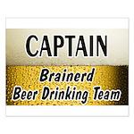 Brainerd Beer Drinking Team Small Poster