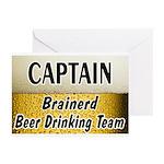 Brainerd Beer Drinking Team Greeting Cards (Pk of