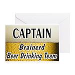 Brainerd Beer Drinking Team Greeting Card