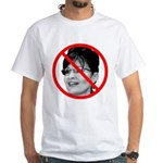 Anti Sarah Palin (Front) White T-Shirt