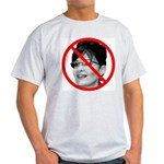 Anti Sarah Palin (Front) Light T-Shirt