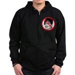 Anti-Obama No Experience Zip Hoodie (dark)