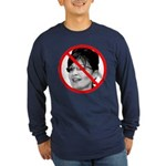 Anti Sarah Palin (Front) Long Sleeve Dark T-Shirt