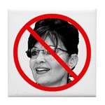 Anti Sarah Palin Tile Coaster
