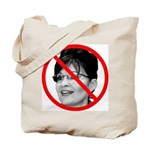 Anti Sarah Palin Tote Bag
