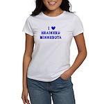 I Love Brainerd Winter Women's T-Shirt