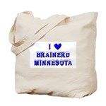 I Love Brainerd Winter Tote Bag