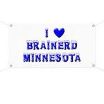 I Love Brainerd Winter Banner