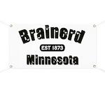 Brainerd Established 1873 Banner