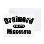 Brainerd Established 1873 Greeting Cards (Pk of 10