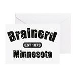 Brainerd Established 1873 Greeting Cards (Pk of 20