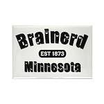 Brainerd Established 1873 Rectangle Magnet (100 pa