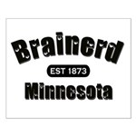 Brainerd Established 1873 Small Poster
