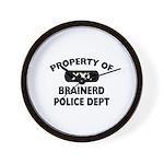 Property of Brainerd Police Dept Wall Clock