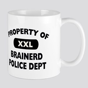 Property of Brainerd Police Dept Mug