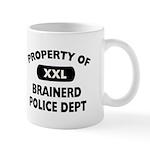 Property of Brainerd Police Dept Mug