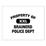 Property of Brainerd Police Dept Small Poster