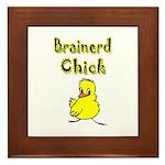 Brainerd Chick Framed Tile