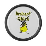 Brainerd Chick Large Wall Clock
