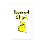 Brainerd Chick Rectangle Sticker 10 pk)