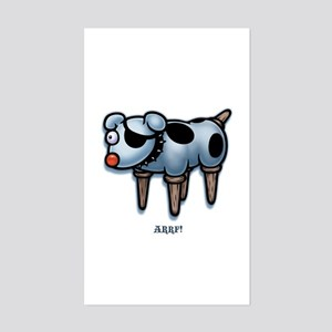 Arrfy -col Rectangle Sticker