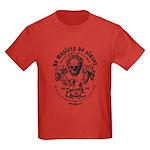 No Masters No Slaves Kids Dark T-Shirt