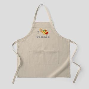 I Love Tennis Apron