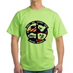 MOBILE MINE ASSEMBLY GROUP Green T-Shirt