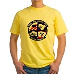 MOBILE MINE ASSEMBLY GROUP Yellow T-Shirt