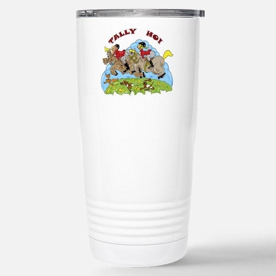 Tally Ho! Stainless Steel Travel Mug