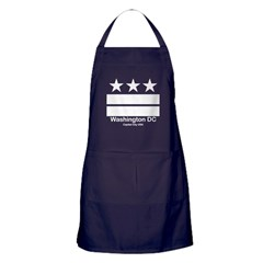 Washington DC Capital City US Apron (dark)
