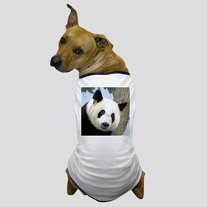 Panda Square Photo Dog T-Shirt