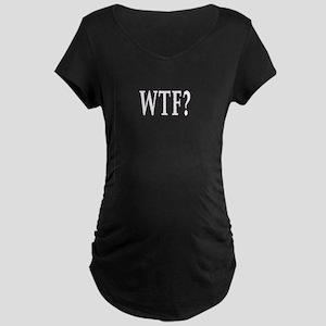 WTF? Maternity Dark T-Shirt