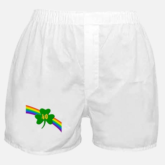 40th Shamrock Boxer Shorts