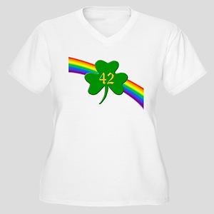 42nd Shamrock Women's Plus Size V-Neck T-Shirt