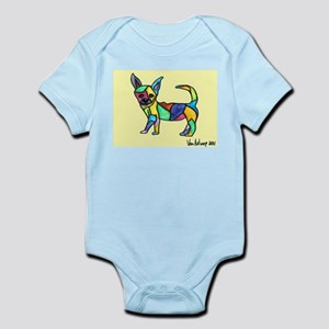 Chihuahua Infant Creeper- www.ChicArtTees.com -