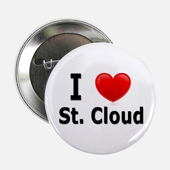 """I Love St. Cloud 2.25"""" Button"""