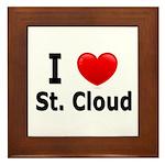 I Love St. Cloud Framed Tile