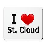 I Love St. Cloud Mousepad