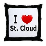 I Love St. Cloud Throw Pillow