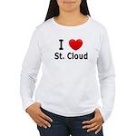 I Love St. Cloud Women's Long Sleeve T-Shirt