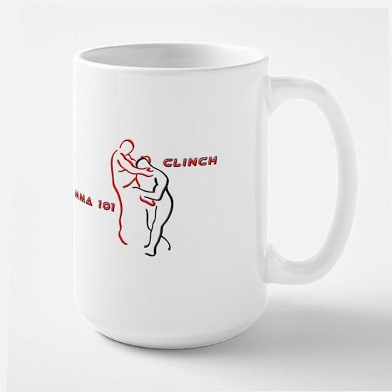 """""""MMA 101 Clinch"""" Large Mug"""