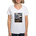 Alexzandria Memorial Women's V-Neck T-Shirt