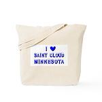I Love St. Cloud Winter Tote Bag