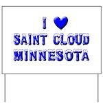 I Love St. Cloud Winter Yard Sign