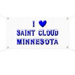 I Love St. Cloud Winter Banner